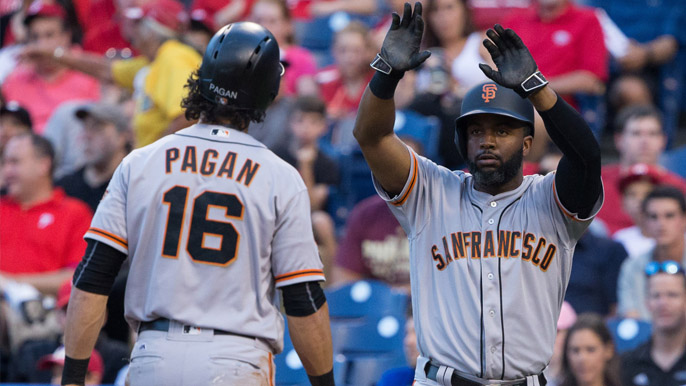 Span saves Giants with extra-inning home run