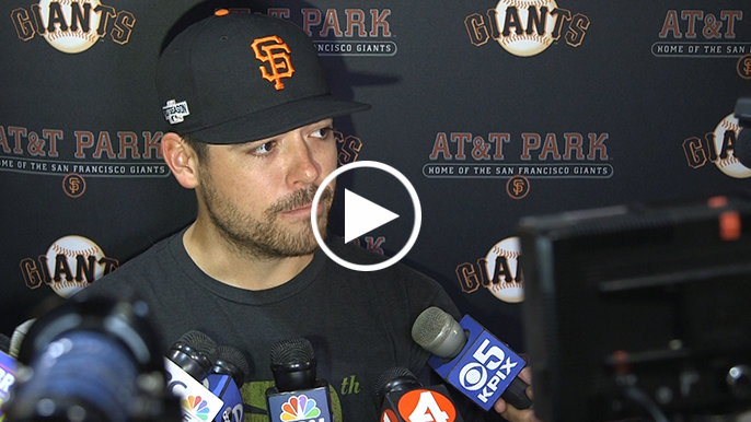 Matt Moore defends Bochy's decision to go to bullpen in 9th
