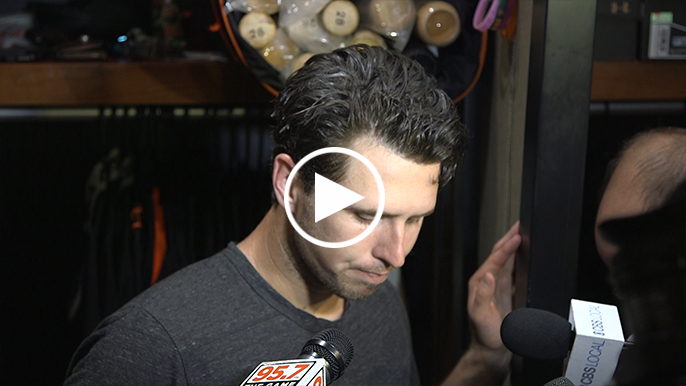 Posey shares postgame message to upcoming free agents Romo, López