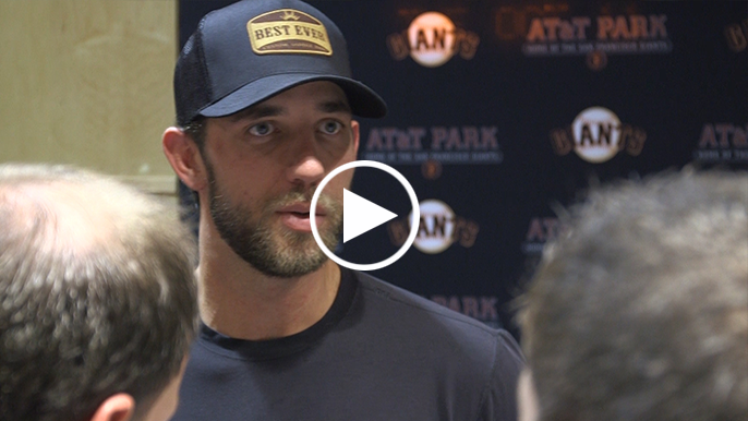 Bumgarner on Giants picking him up: 'I needed that, we needed that'
