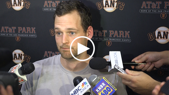 Gillaspie: 'I didn't even know where the ball was when I hit it, I just started running'