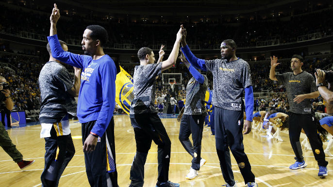 Radnich: Addition of Durant affecting Klay's production