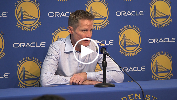 Kerr: Good chance you'll see the ball in Curry's hands more