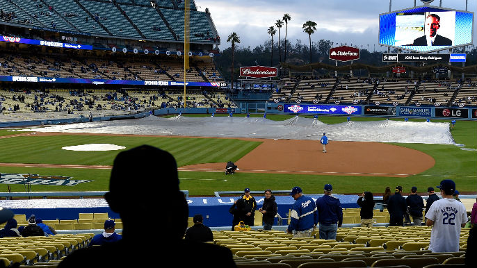 Two Dodgers security guards arrested, accused of theft