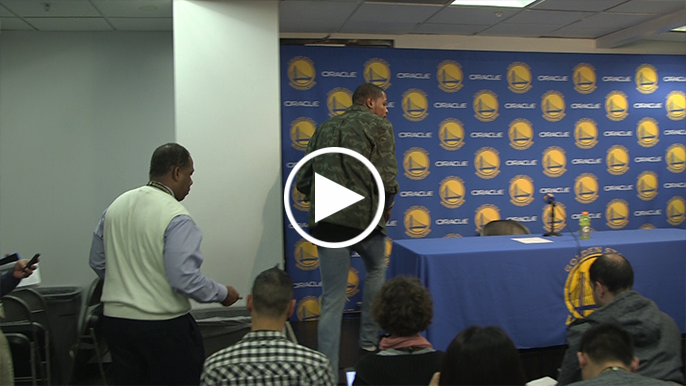 Full Kevin Durant press conference following 40-point performance against OKC