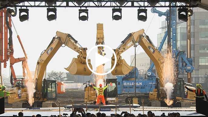Warriors break Chase Center ground with dancing cranes, fireworks, and acrobatics
