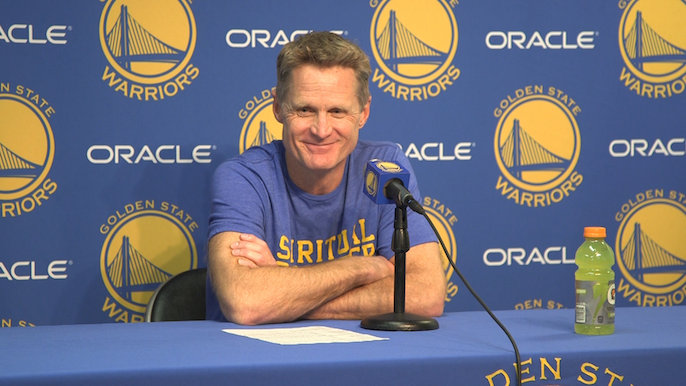 Kerr on Draymond's flagrant: It looked like just a normal foul