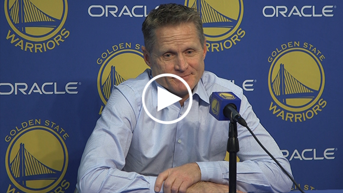 Steve Kerr speaks out strongly against instant replay