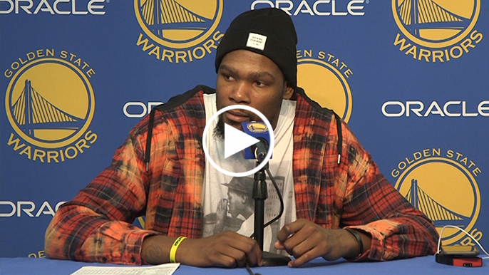 Durant: 'That's the best part…we're winning at a high rate, and we're still trying to figure ourselves out'