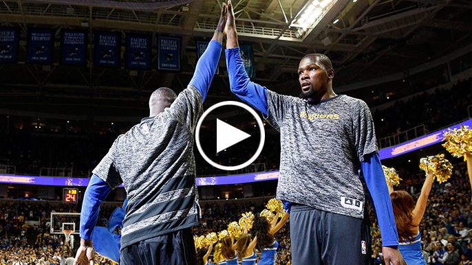 Radnich: Durant is too good to be yelled at by Draymond on the court