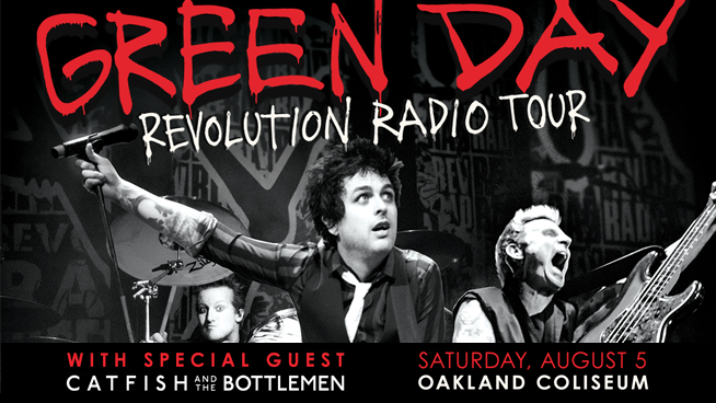 Win a Pair of tickets to Green Day