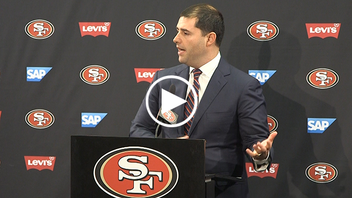 Jed York refuses to say if he believes firing Jim Harbaugh was a mistake