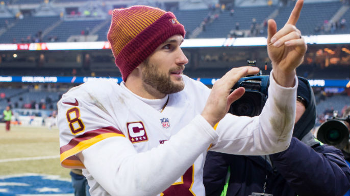 Kirk Cousins will be on 49ers' radar [reports]