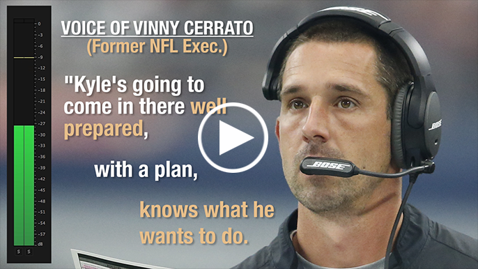 Vinnny Cerrato: Kyle Shanahan will come to San Francisco with a plan