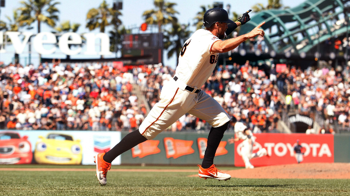 Will Hunter Pence be on the Giants' roster by the end of 2018?