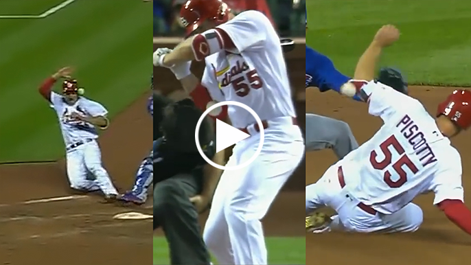 Rod's Riffs: Cardinals player hit in both elbows, head during trip around bases