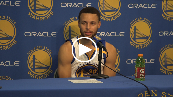 Curry: 'We're chasing something. We're not protecting anything this year.'