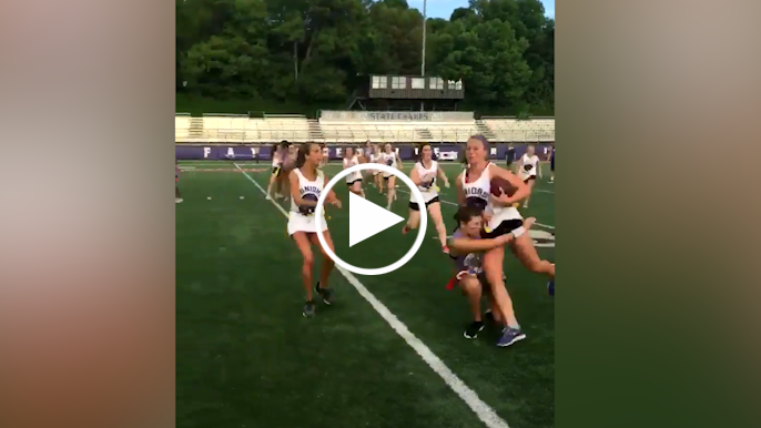 Rod's Riffs: Powder Puff flag football gets physical