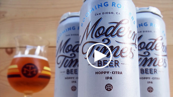 Tolbert's Beer Review: Booming Roller from Modern Times citra hops
