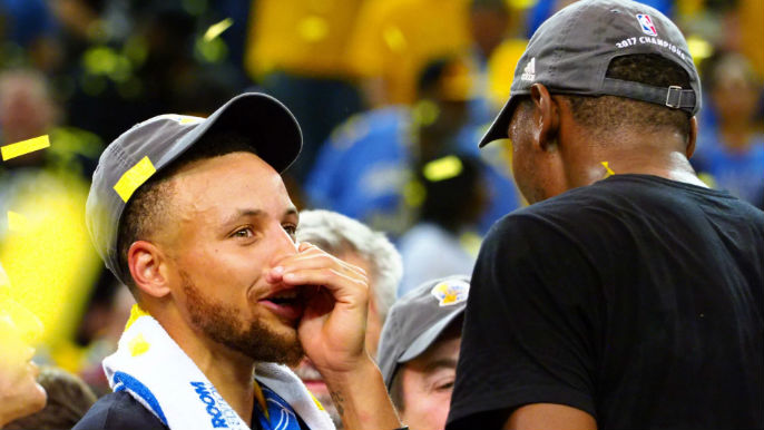 97bcf46ab190bc Warriors Twitter sounds off on ESPN reporter who slights Curry