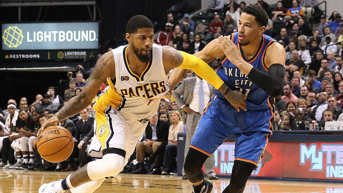 446168457619 Paul George traded to Oklahoma City  report