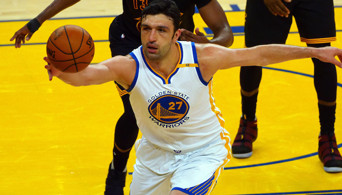 7648cd1d115b39 Zaza Pachulia re-signs with Warriors