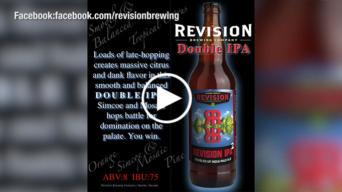 Tolbert's Beer Review: Revision Double IPA