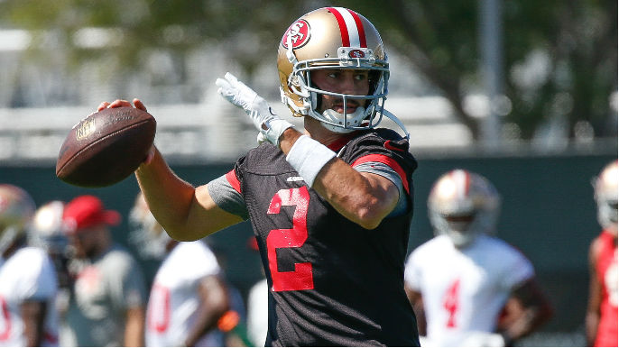 1d7f300d7 49ers camp observations  Offense torches secondary