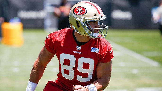 The 49ers don't know what to do with Vance McDonald