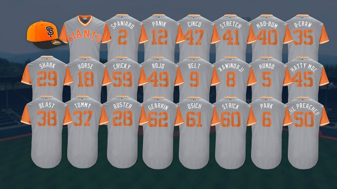 info for 2ee76 e9f48 Murph: The nicknames we'd like to see on the Giants' jerseys ...