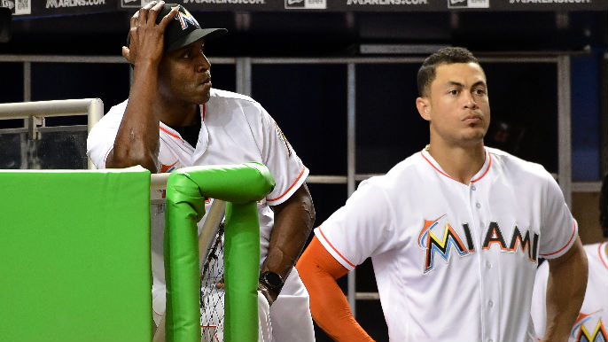 c4a4b2d78 Giancarlo Stanton not convinced Bonds' 73 is home run record | KNBR-AM