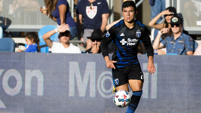 AUDIO: Lima's volley gives Quakes 1-0 lead vs. Rapids