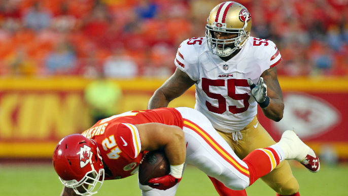 49ers to release Ahmad Brooks [report]
