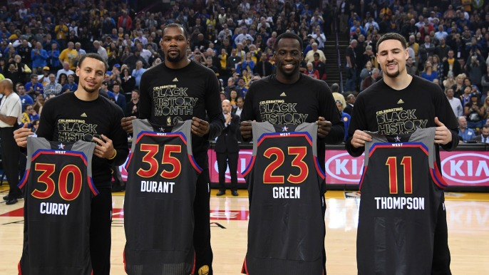 All-time Golden State Warriors team revealed in NBA 2K18 ...