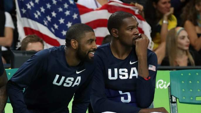 Durant 'can really appreciate' what Kyrie Irving did in requesting trade from Cavaliers