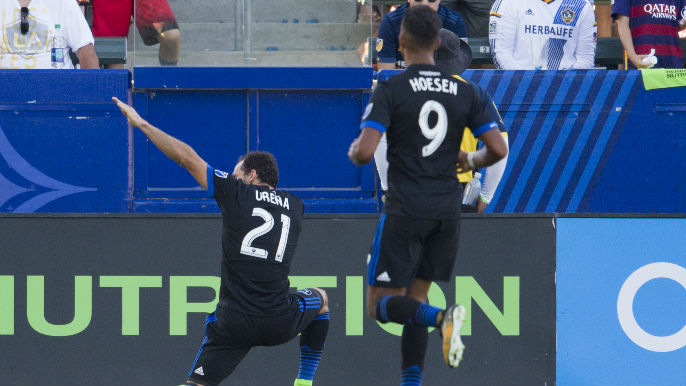 AUDIO: Marco Ureña adds late goal to give Quakes 2-0 lead over Galaxy