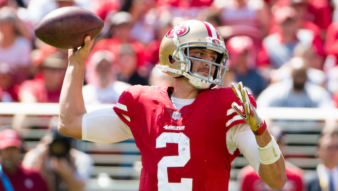 John Lynch affirms confidence in Brian Hoyer, says 'everyone has to be better'