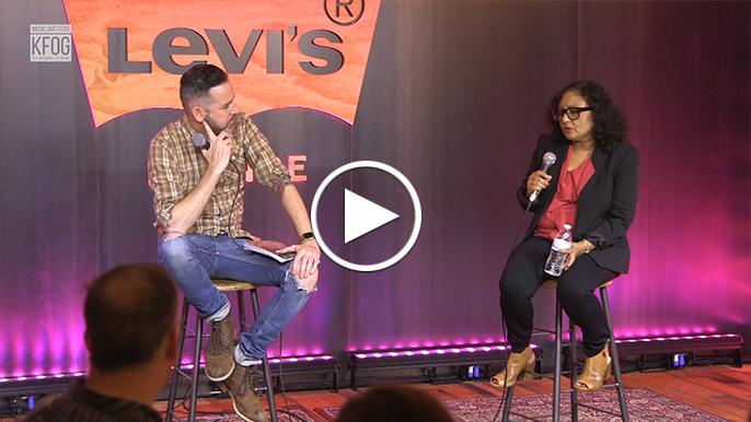 Director of 'The Valley' participates in Q&A in Levi's Lounge