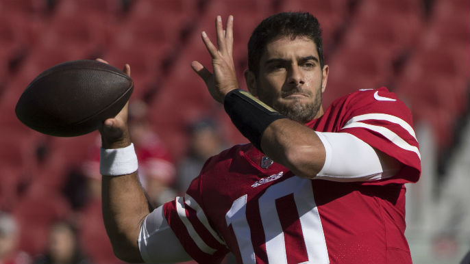 c0baa1c20d7 John Lynch addresses report on 680 that 49ers could trade Garoppolo ...