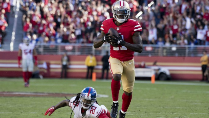 Marquise Goodwin honored by local 49ers reporters