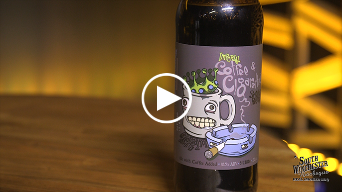 Tolbert's Beer Review: Cellarmaker Coffee And Cigarettes