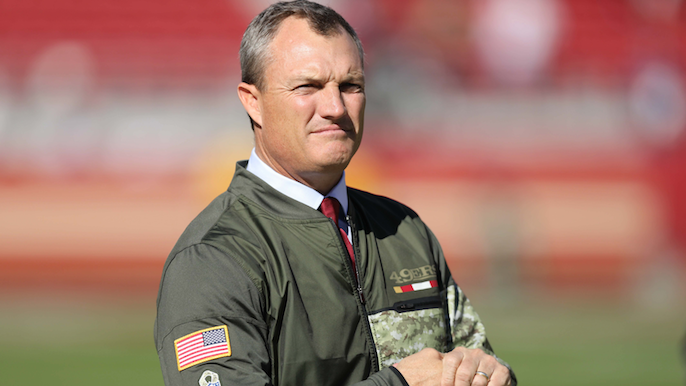 John Lynch releases statement on Reuben Foster, says he will rejoin 49ers on Thursday