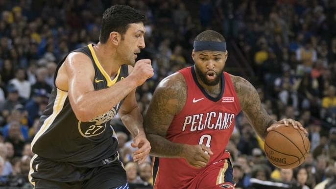 best service 5af53 da532 Fitz on Pelicans' success: 'They don't have DeMarcus Cousins ...