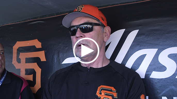 Bochy calls Pence's future with Giants 'a big elephant' in the room