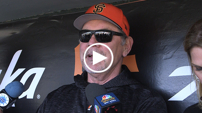 Bochy updates injury timetables on several players