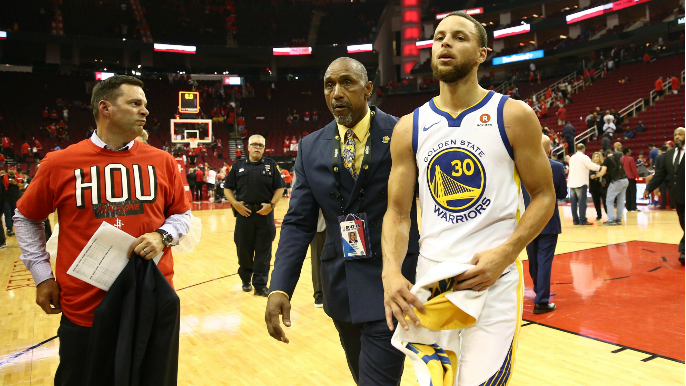 Murph: Two games into the Western Conference Finals, Stephen Curry isn't playing premium-level basketball