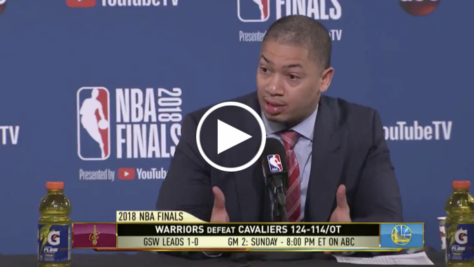 Ty Lue blasts overturned charge call: 'It's never been done in the history of the game'
