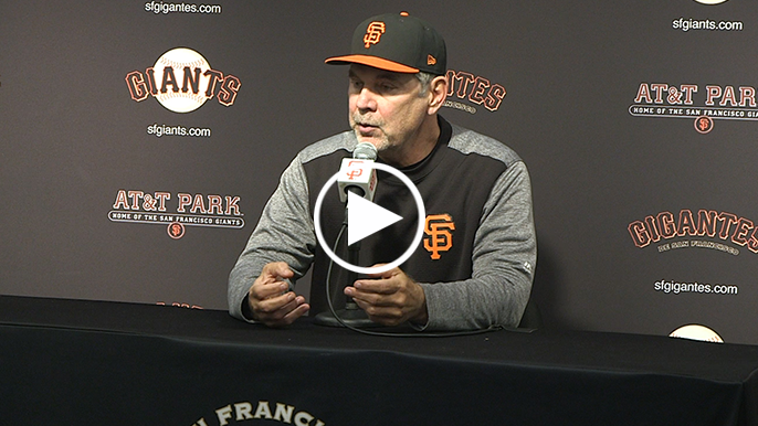 Bochy says young pitchers are the key to this season