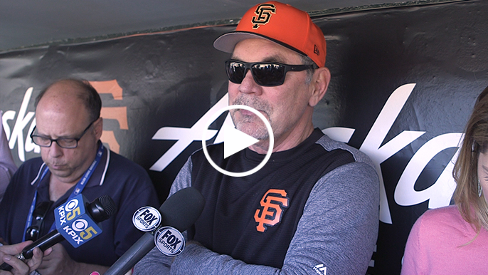 Bochy on Dwight Clark: 'If you ever were around Dwight, you had fun.'