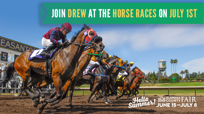 Enter for your chance to join Drew Hoffar at the Horse Races!